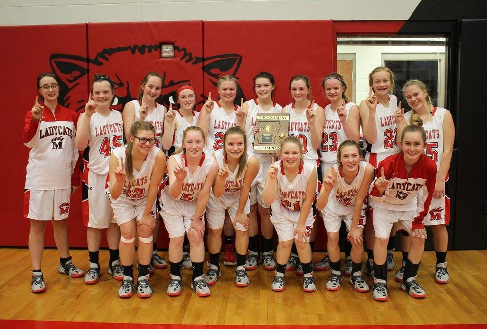 Jr Ladycats Win District Tournament