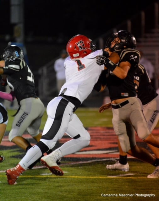 Bearcats overpower Bauxite; Cruise at Homecoming
