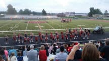 Mena Little Cats Cheer Camp – Cheer at Blk/Red Scrimmage