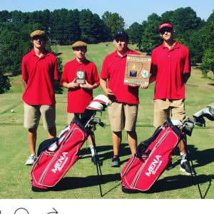 Bearcat Golf win District & Advances to State