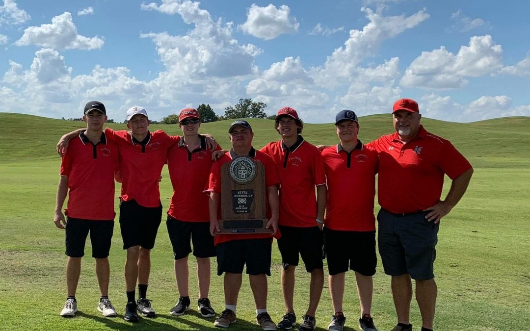 MHS Golf Takes State Runner-Up