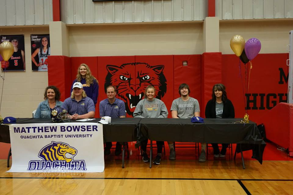 Bowser & Strother sign with OBU